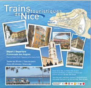 Train touristique nice
